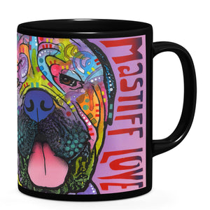 Dean Russo Mastiff Love Cool Gift - Coffee Mug