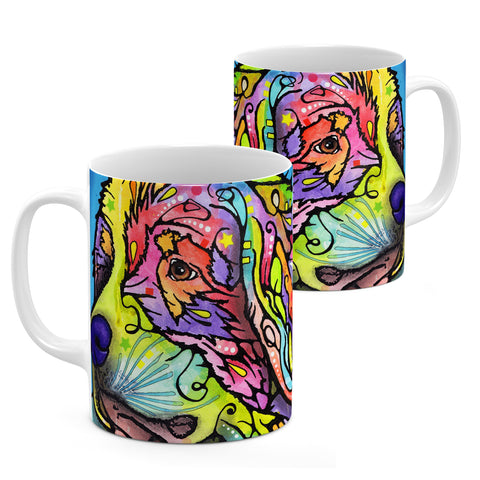 Image of Dean Russo Mountain Dog Cool Gift - Coffee Mug