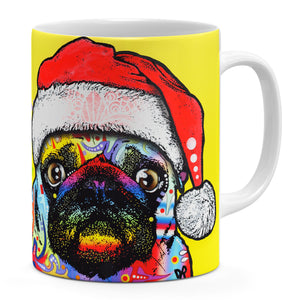 Dean Russo Pug Christmas Edition Cool Gift
