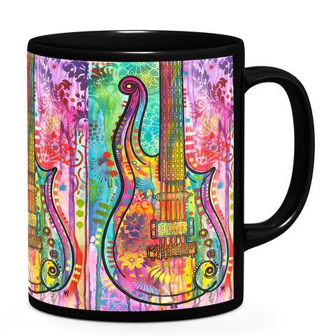 Image of Dean Russo Prince Cloud Guitar Cool Gift - Coffee Mug