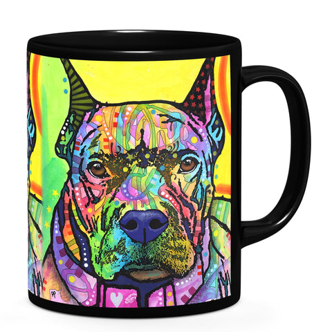 Image of Dean Russo Stare Down Cool Gift - Coffee Mug