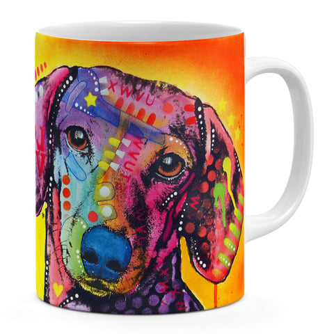 Image of Dean Russo Tilt Dachshund Love Cool Gift