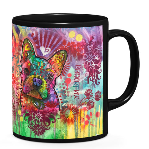 Image of Dean Russo Frenchie Jacket Cool Gift - Coffee Mug
