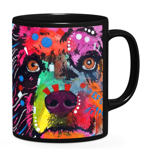 Image of Dean Russo Aussie Tile Cool Gift - Coffee Mug