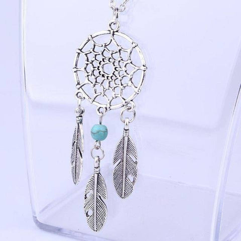 Image of Dream Catcher Necklace Choker - Bee Bee Shopping USA