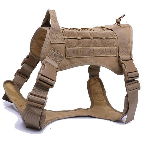 Image of Tactical Dog Harness - Bee Bee Shopping USA