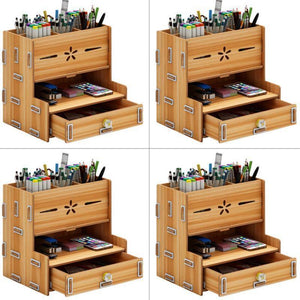 Stationery Storage Desk Cabinet - Bee Bee Shopping USA