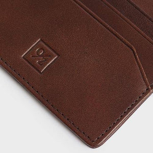 Men's Leather Slim Wallet - Bee Bee Shopping USA