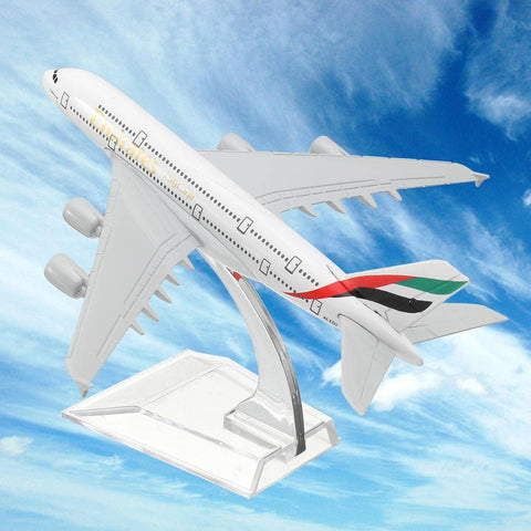 Image of Emirates A380-800 Metal Diecast Desktop Plane Model - Bee Bee Shopping USA
