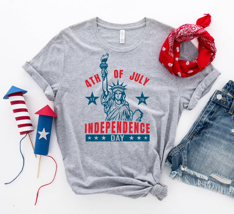 Independence day T-shirt - Bee Bee Shopping USA
