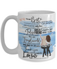 "Mug for My Best Friend - ""To My Bestie"" 15oz white coffee mug"