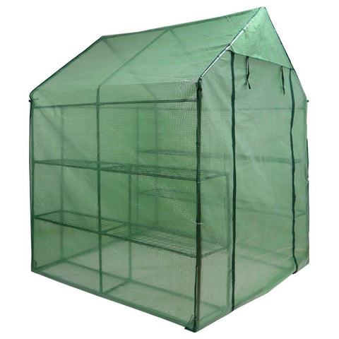 Image of Large Walk-in Plant Greenhouse With 8 Shelves - Bee Bee Shopping USA