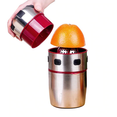Image of Stainless Steel Portable Orange Juicer - Bee Bee Shopping USA