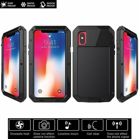 Image of Heavy Duty Metal Aluminum Protection Case - Bee Bee Shopping USA