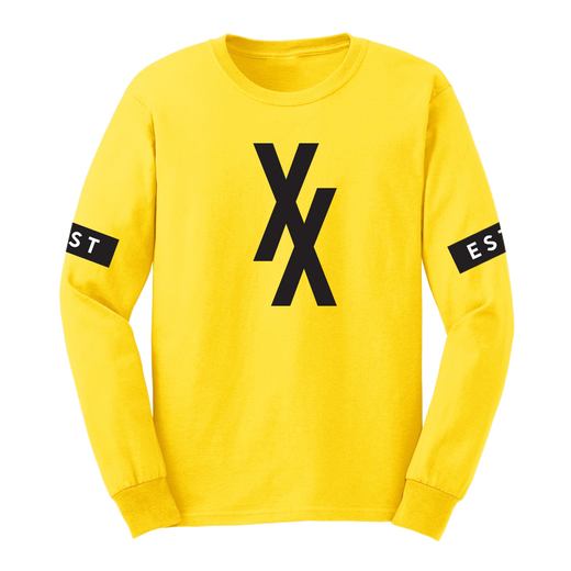 XX Long Sleeve Yellow Tee