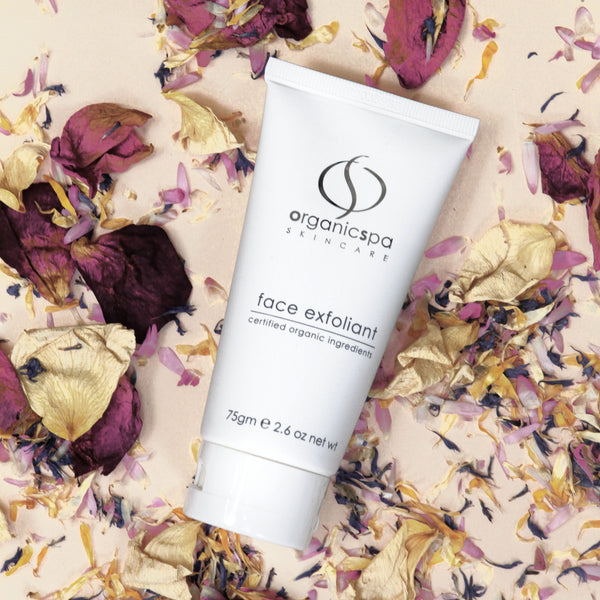 Autumn Skincare Facial with OS Face Exfoliant.
