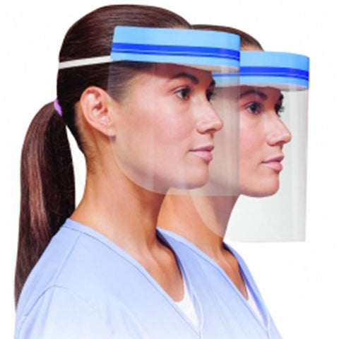 Protective Face Visor, Pack of Five