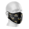 Just Swim It Black Reusable Face Mask - Kids/Adults