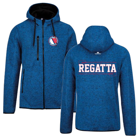 National Schools Regatta Navy Heather Hooded Jacket