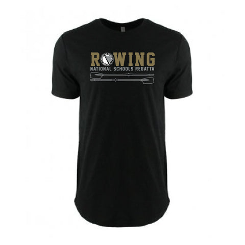 National Schools Regatta - Black & Gold Cotton T-Shirt