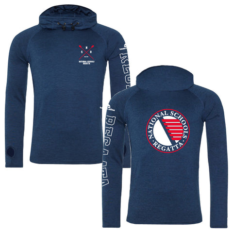 National Schools Regatta Navy Melange Hoodie