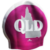 Queenslander Pink Seamless Silicone Swim Cap