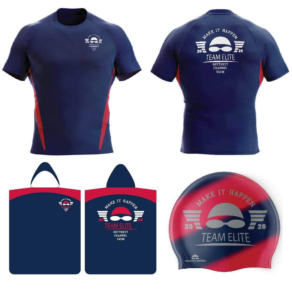 Team Elite Rottnest Channel Swim Team Package - Kids 16 (XS)