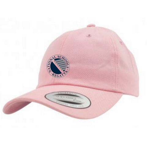 National Schools Regatta Pink Brushed Cotton Cap