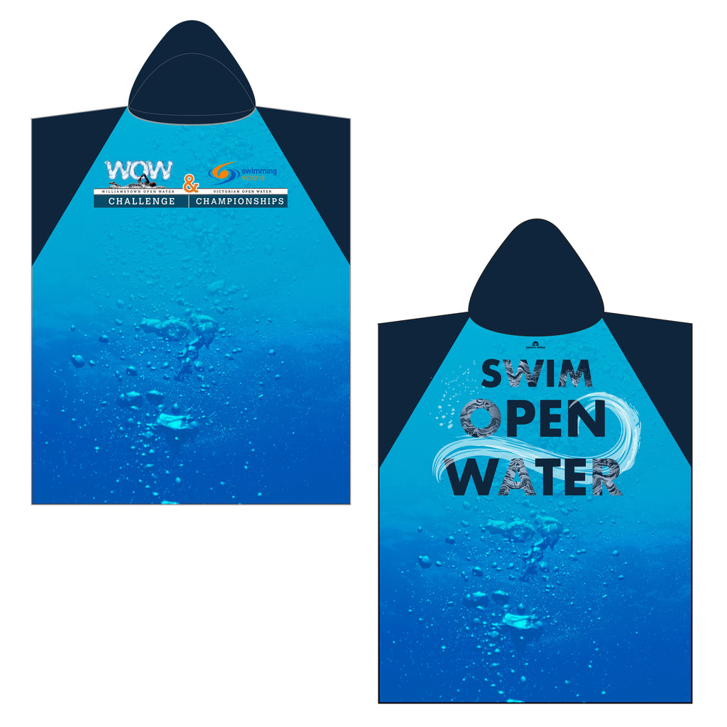 WOW & VIC OW - Official Sublimated Hooded Towel