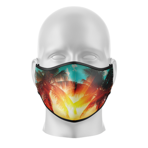 Sun Palms Reusable Face Mask - Adults