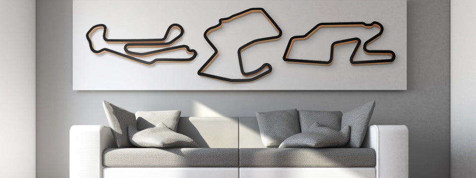 Race Track Wall Art >> Race Track Art Track Sculptures