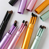 5pcs Travel Portable Mini Eye Makeup Brushes Set