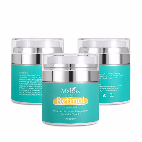 Mabox Retinol Moisturizer Face Cream Vitamin E Enriched  Anti-aging Serum