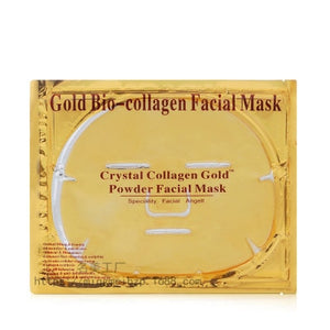 10Pcs/Lot Skin Care Facial Mask Gold Collagen Black Mask