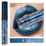 1pc Waterproof Metallic Matte Liquid Lipstick