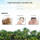 100% Pure Natural Coconut Essential Oil Massage