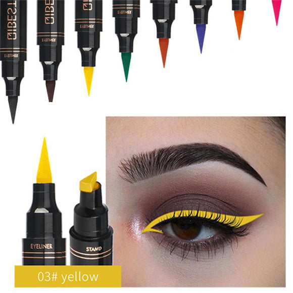 Waterproof Seal Stamp Liquid Eyeliner Pen