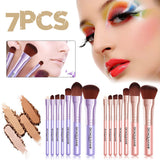 7PCS/SET Pro Women Facial Makeup Brushes Set
