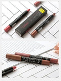 19 Colors Matte Waterproof Lipstick Tubes