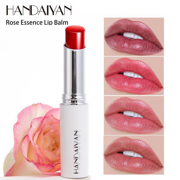 HANDAIYAN 1pc Natural Rose Essence Moisturizing Lipstick