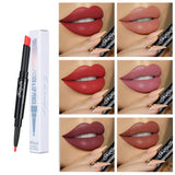 12 Color Waterproof Nude Pink Matte  Lipstick