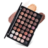 40 Colors Matte Shimmer  Earth Color Eyeshadow Palette
