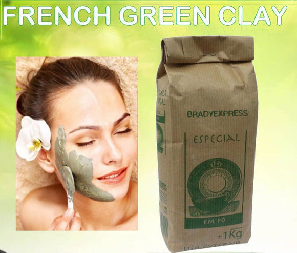 New Organic FRENCH GREEN CLAY Face Mask