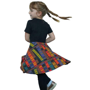 Twirl Dress + Leggings Book Spines
