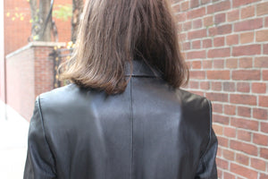 Tailored Fit Softest Leather Coat