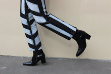 Load image into Gallery viewer, Upcycled Striped Versace Jeans