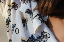 Load image into Gallery viewer, Silk Motorcycle Buttondown Shirt
