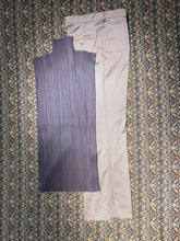 Load image into Gallery viewer, Etro Light Bone Silver Silk Pant Size 42 / US 29