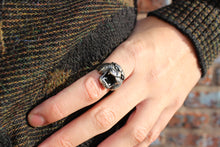Load image into Gallery viewer, Sterling Panther Ring