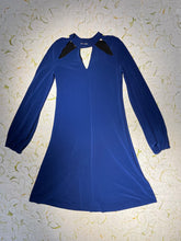 Load image into Gallery viewer, Norma Kamali Royal Blue Disco Dress Size XS